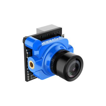 "Foxeer Arrow Micro Pro 1/3"" CCD 2.1mm 4:3 600TVL PAL/NTSC FPV Camera with OSD Black/Blue/Red"