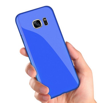 Bakeey Piano Paint Glossy Harde pc-beschermhoes voor Samsung Galaxy S7