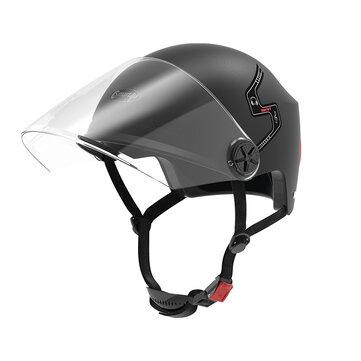 Smart4u E10 Atendimento Automático bluetooth Meia Face Capacete Para Moto Scooter Veículo Elétrico Da Bicicleta a partir de xiaomi youpin