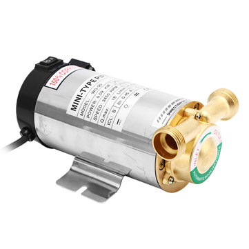 110V Self Priming Water Pressure Booster Pump Shower Electric Automatic Stainless Steel Water Pump