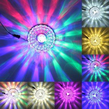 Moderna 3W cristal luminária de teto embutida luminária lustre de corredor corredor
