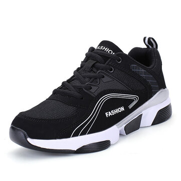 Men Comfy Mesh Athletic Shoes Outdoor Sports Shoes Sneakers