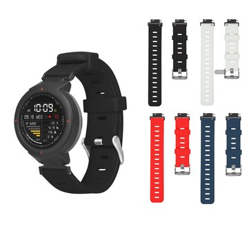 Bakeey Silicone Watch Band Replacement Watch Strap for Amazfit Verge 3 Smart Watch