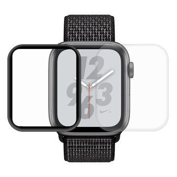2 Packs Enkay 3D Curved Edge PET Watch Screen Protector For Apple Watch Series 4 44mm