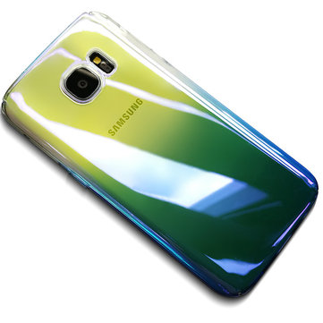Bakeey Gradient Color Hard PC Protective Back Case For Samsung Galaxy S7 Edge
