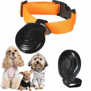 High Digital Pet Collar Camera Video Recorder With LCD Screen Phone Number Display Camcorde