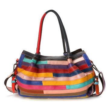 Women Genuine Leather Floral Crossbody Bag Designer Handbag