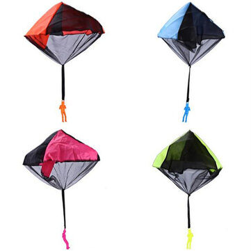 Kids Hand Throwing Parachute Speelgoed Outdoor Funny Game Tangle Gratis Parachute Toy