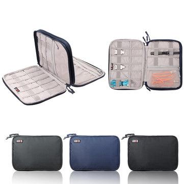 BUBM Acessórios eletrônicos de camada dupla Universal Travel bag / Hard Drive Caso / Cable organizer