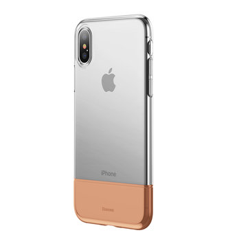 Baseus Protective Case For iPhone XS Max Hybrid Color Transparent Fingerprint Resistant Back Cover