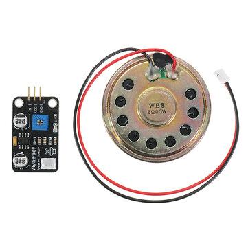 Arduino用スピーカーモジュールパワーアンプミュージックプレーヤーモジュールGeekcreit-公式Arduinoボードで動作する製品