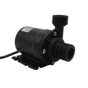 Excellway® 800L / H 5M DC 12V / 24V Solar Bomba de agua de circulación de agua de calefacción Bombas de agua sumergibles