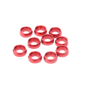 10PCS ALZRC Devil 380 420 465 450L X360 RC Helicopter Parts M2.0 Screw Washer Red