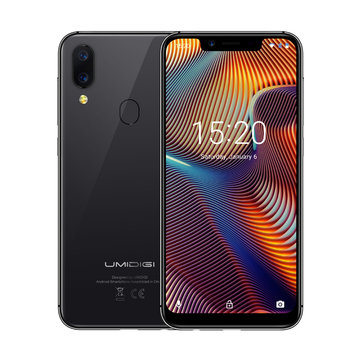 UMIDIGI A3 Pro Global Bands 5.7 дюймов HD + 3300mAh Android 8.1 3 ГБ 32GB MT6739 Quad Core 4G Смартфон