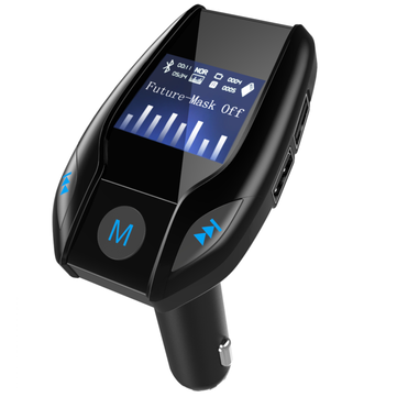 FM Transmitter Car bluetooth 3.0 Fast Charger Audio Mp3 Player