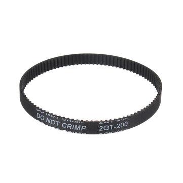 Machifit GT2 Timing ad anello chiuso 6mm Cintura Versione antiscivolo 2GT 110/112/122/158/200/280/300/320/400/610/852 / 1220mm Sincrono in gomma Cintura