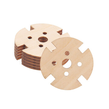 5pcs 221222082216 Wooden Motor Fixed Seat Motor Mount for RC Airplane Fixed Wing Spare Part