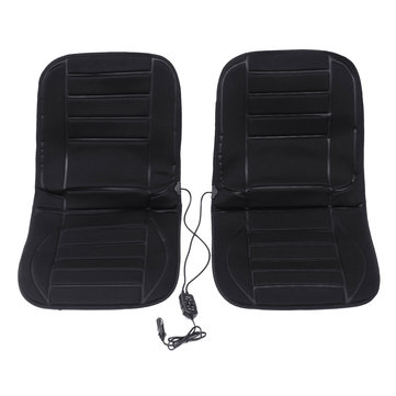 Tvird Car Heating Warm Seat Cover 12V Double Seat 2 Minutes Heating Up