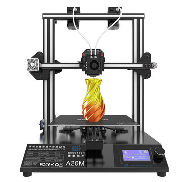 Geeetech® A20M Mix-color 3D Printer 255x255x255mm Printing Size With Filament Detector/Power Resume/Superplate Hotbed/Modular Design/360° Ventilation/Open Source Control Board/Support WIFI Connection
