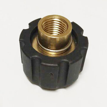 1/4 Sand Blasting High Pressure Washer Brass Adapter M22F For Karcher HD HDS