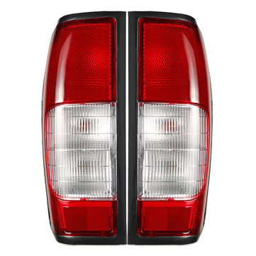 Car Left/Right Tail Light Brake Lamp with Bulb For Nissan Navara D22 D23 Pickup 1998-2004