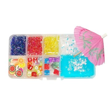 Areedy Z260 150ML Multicolor Slime Crystal Mud Set Decompression DIY Gift Toy Stress Reliever
