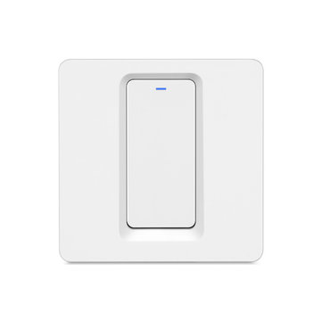 Bakeey 600W 1 Way Smart WIFI Pulsante Interruttore a parete Luce Tuya APP remoto Controllo lavoro con Google Assistant Amazon Echo