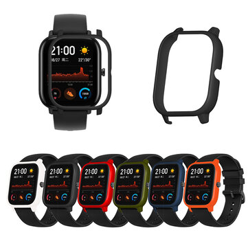 Color PC Watch Case Cover Watch Cover Screen Protector for Amazfit GTS