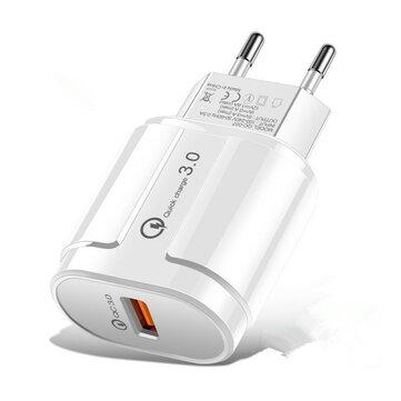 Bakeey Quick Charge QC 3.0 Adaptador de carregamento rápido de parede para carregador USB para IPhone Samsung