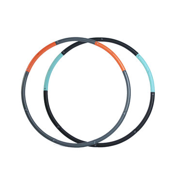 Xiaomi YEUX Removable Rubber Fitness Hoop Hula Body Beauty Slimming Yoga Ring Exercise Tools -Blue