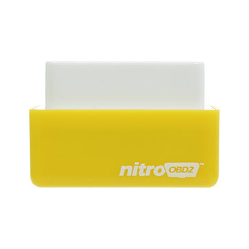 Nitro OBD2 Benzine Geel Economy Chip Tuning Box Power Fuel Optimization Device