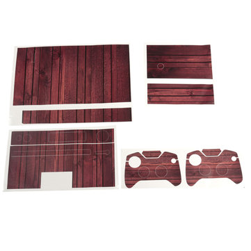 Personality Wood Grain Vinyl Sticker For Xbox One Kinect 2 Controller Skins