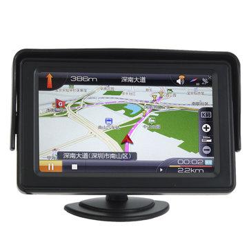4.3 Pollici LCD Monitor di retrovisione auto con retroilluminazione LED per fotografica DVD